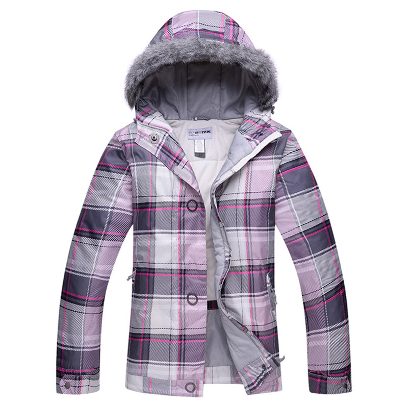 New womens snowboard jackets mountain ski suit women skiing clothing Free shipping waterproof jacket ski suit set