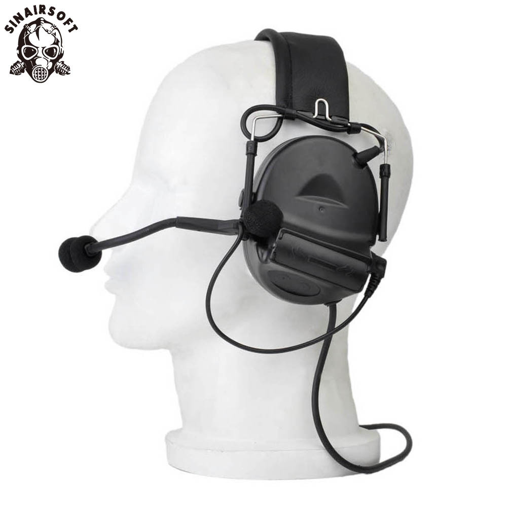 SINAIRSOFT Z tactical Sordin Tactical Headsets Airsoft Comtac Z 041 ZComtac II Headset Style Helmet Noise