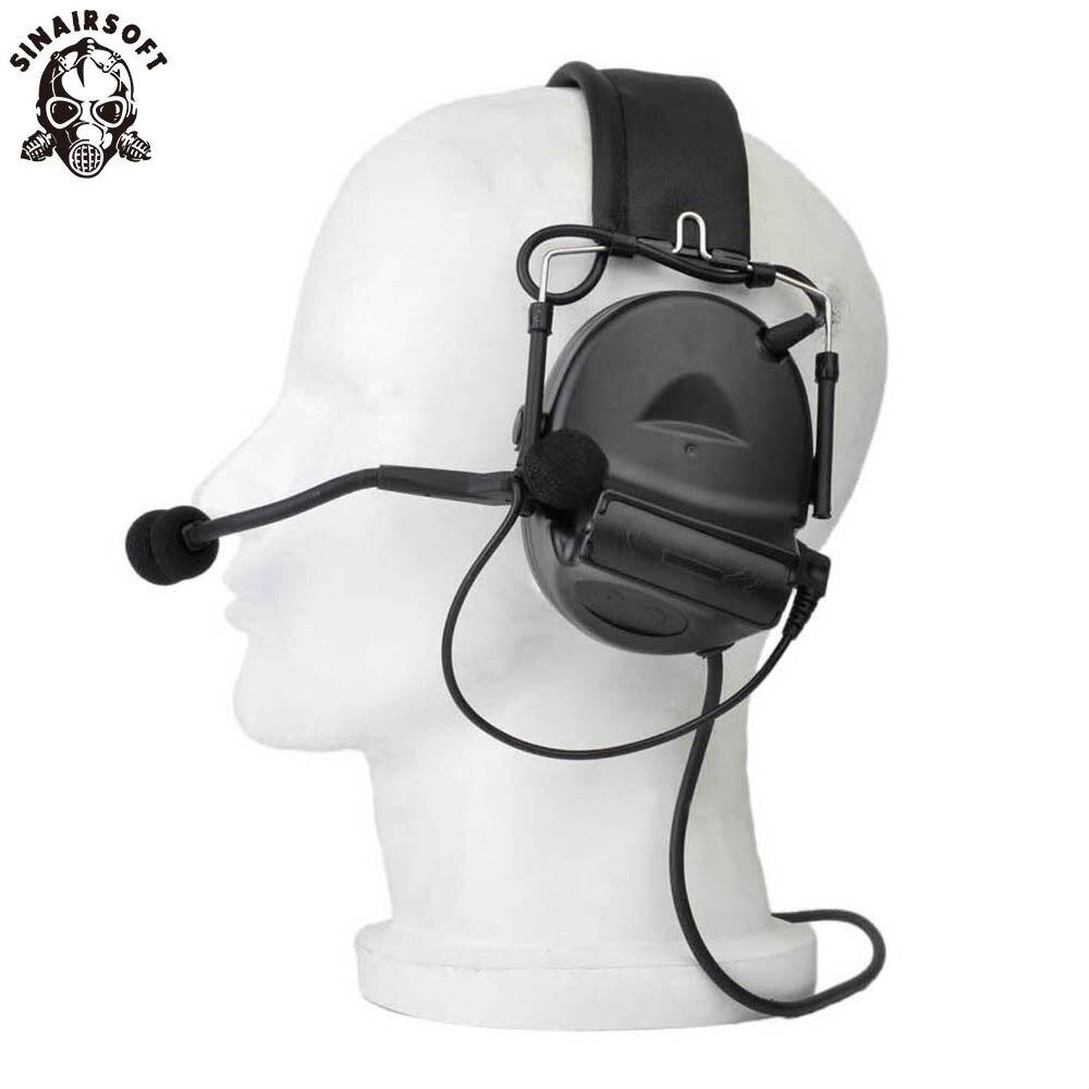 все цены на SINAIRSOFT Z-tactical Sordin Tactical Headsets Airsoft Comtac Z 041 ZComtac II Headset Style Helmet Noise Canceling Headphone онлайн