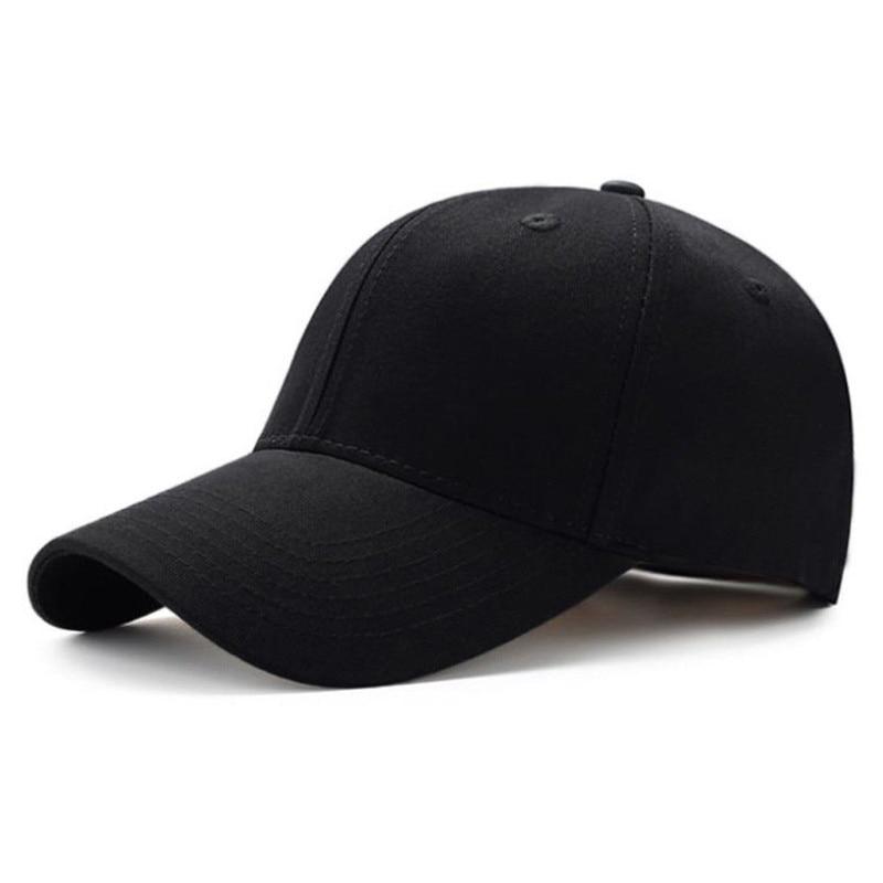 Unisex Men Women Plain Curved Sun Visor Baseball Cap Hat Solid Color Fashion Adjustable Caps Hats Accessories