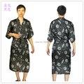 Мужские искусственный шелк шелк халат пижамы женское бельё рубашки кимоно платье pjs пижама китайский традиционный принт 8 цветов # 3799