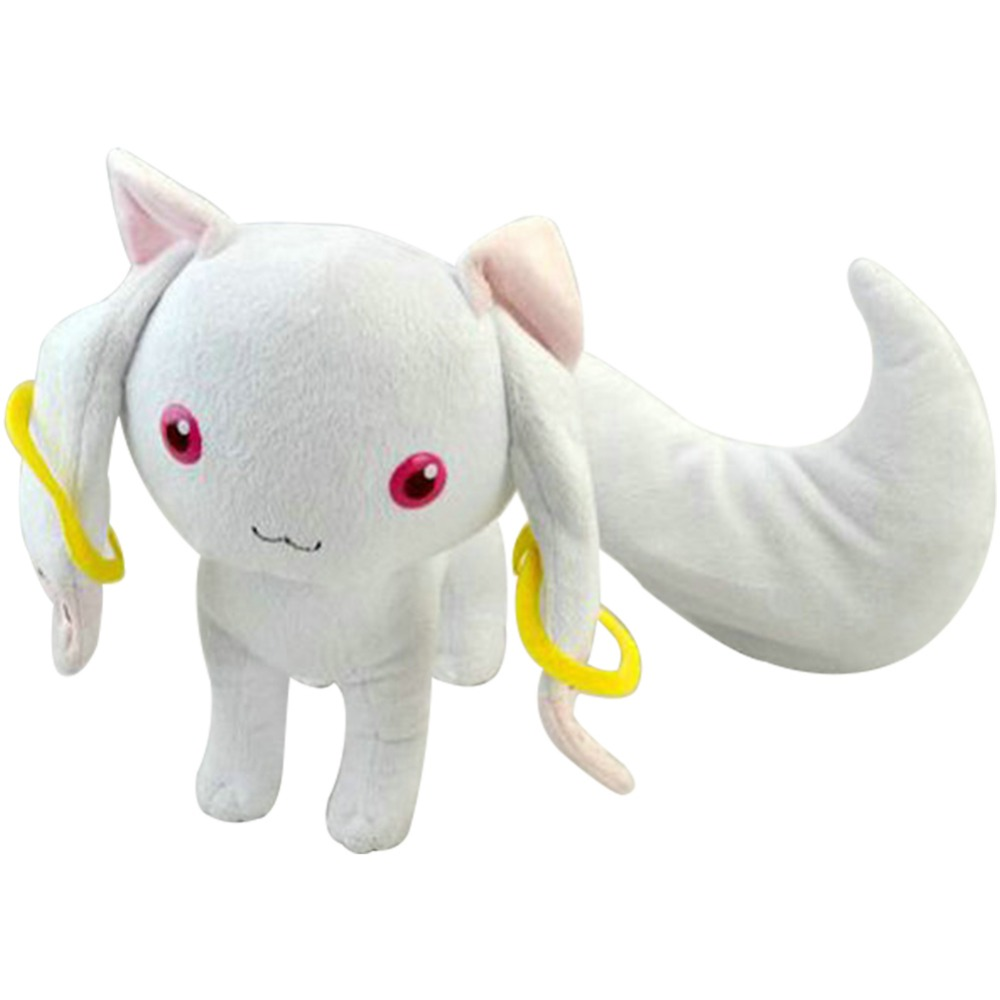 9'' Anime Puella Magi Madoka Magica Kyubey toy Cosplay For Costume