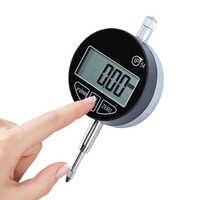 """IP54 น้ำมันดิจิตอลไมโครมิเตอร์ 0.001 มม.ไมโครเมตรเมตริก/นิ้ว 0-12.7 มม./0.5"""" ไฟแสดงสถานะ Precision Dial Gauge Meter"""