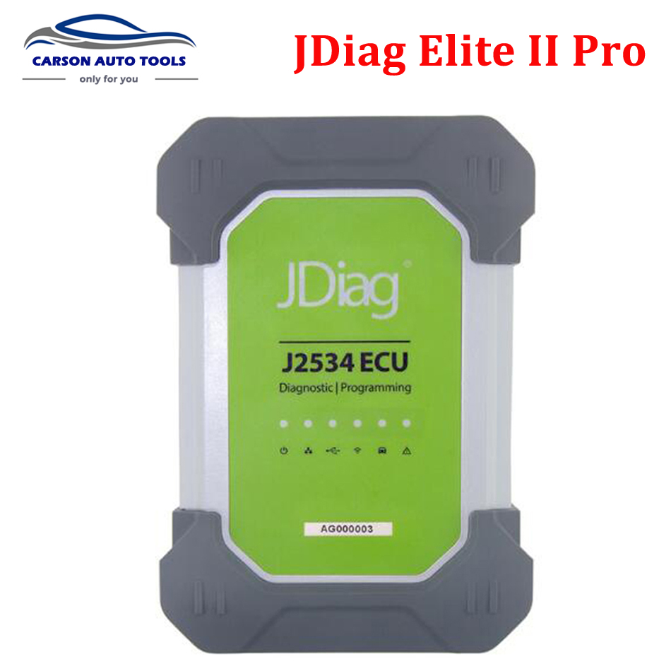 2017 Fast DHL shipping JDiag <font><b>Elite</b></font> II Pro Professional ECU Programming&Diagnostic Original JDiag <font><b>Elite</b></font> J2534 Same As <font><b>MS908</b></font> Pro image
