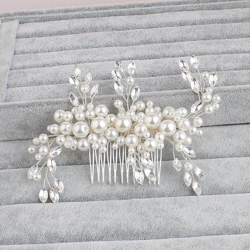 SLBRIDAL Art Deco Cristales de diamantes de imitación transparentes - Bisutería - foto 5
