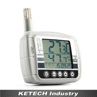 Az 8808 Температура и влажности Регистраторы большой ЖК дисплей Дисплей