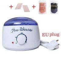 1set Professional Warmer Wax Heater EU Wooden Waxing Wax Disposable Sticks 2 No Strip Hair Removal