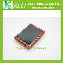 Бесплатная Доставка 5 шт. 2.4 дюймов TFT сенсорный Модуль ЖК-Экран Для Arduino UNO R3 новый оригинальный