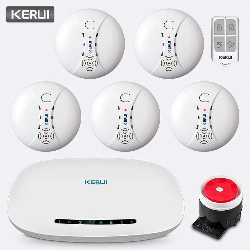 KERUI W19 Wireless GSM GPRS Anti-Theft Auto Dial Alarm System Security Home APP Remote Control Message Push Safety Alarm KitKERUI W19 Wireless GSM GPRS Anti-Theft Auto Dial Alarm System Security Home APP Remote Control Message Push Safety Alarm Kit