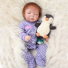 OtardDolls Reborn Doll 2050 cm Soft Silicone Newborn Baby Babies Dolls Lifelike Real Bebe Doll for Children Birthday Xmas Gift silicone reborn baby doll 22 inch real lifelike newborn dolls girl children birthday xmas gift