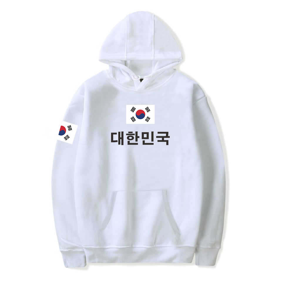 2019 neue Mode South Koreanische Nationalen Flagge Pringitng Pullover Sweatshirt 4XL Plus Größe Hoodies Republik Korea Flagge Kleidung