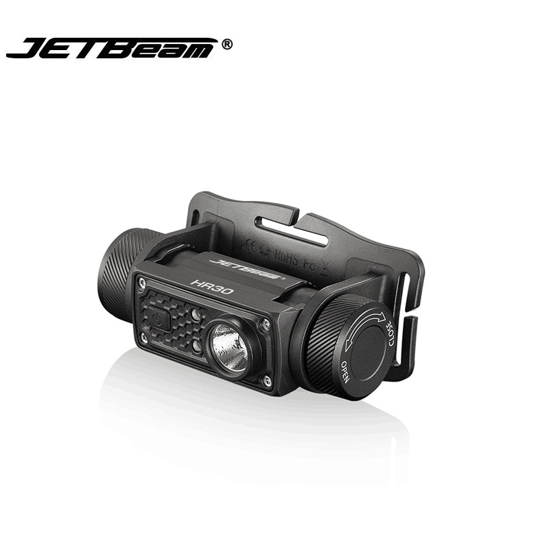 JETBeam HR30 CREE phare SST40 N5 lampe de poche LED avec câble USB par batterie 1*18650