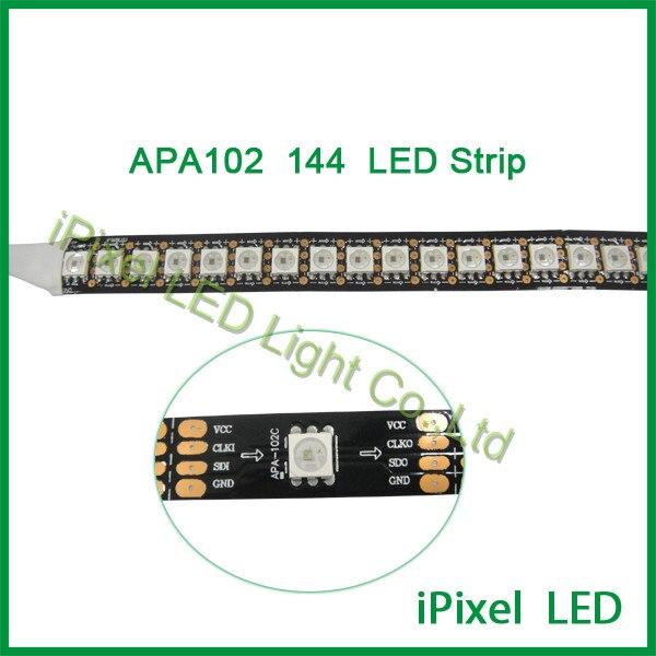 scott 5v 5050 digital pixel strips APA102 ic led full rgb- color lighting