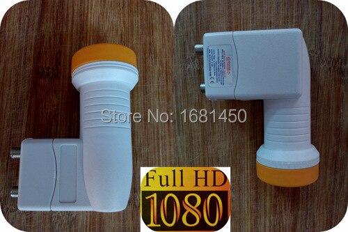 Free shipping High quality 0 1db KU Band twin HD LNB 3602 for satellite TV receiver