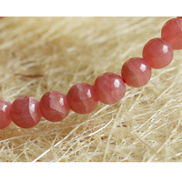Discount Wholesale Genuine Natural Red Rhodochrosite Stretch Finished Bracelet Round beads 5.5mm Jewelry Small Beads