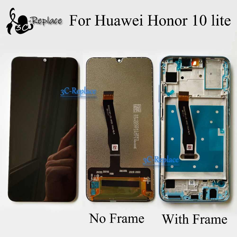 Original Tested 6.21 For Huawei Honor 10 lite honor10 Youth HRY-AL00 LCD Display + Touch Screen Digitizer Assembly With Frame