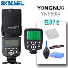 Yongnuo YN560 IV YN560IV Wireless Control Flash Speedlite for Canon Nikon Digital SLR Camera With Yongnuo 560tx flash trigger