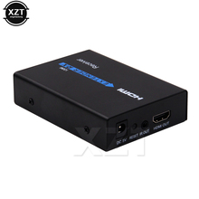High Quality 1080P HDMI Extender 120m over TCP/IP Cat5e/6 Ethernet Cable HDMI Infrared Transmitter/ Receiver WIth IR with Box