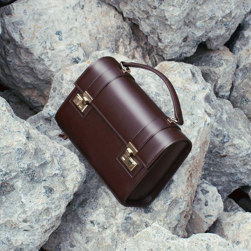 brown Große Designer Stil Marke Schulter Tasche Dame Design Kuh schwarzes Leder Braun Frauen Handtaschen Einzigartige Schwarz Messenger Taschen Vintage Ol 1 qWOrqS6R4