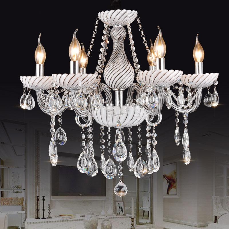 Modern Crystal Chandelier For Hallway Kitchen Dining room Bedroom lustre para quarto 6/8/10 Light Indoor Home lustre candelabro
