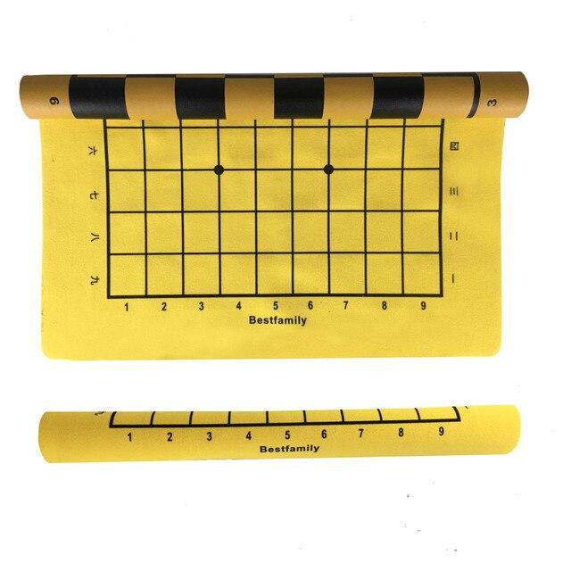 Ensemble de pièces en cuir PU, plateau d'échiquier pliable de 46x50cm ou Shogi, plateau d'échecs IB4 de 45x50mm 2