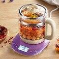 Новый чайник для здоровья  автоматический утолщенный стеклянный Электрический нагревательный чайник  заварочный черный цветочный чай  отв...