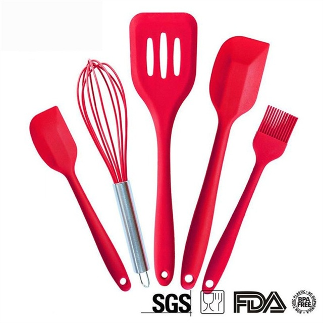 utile cuisine cuisine fouet brosse spatules rsistant la chaleur ustensiles de cuisine ensemble - Ustensile Utile