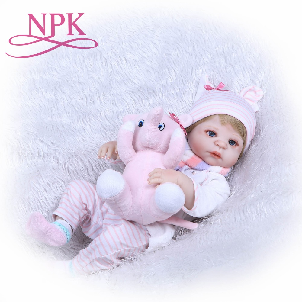 NPK 22 Lifelike Reborn Bonecas Handmade Silicone Reborn Baby Doll Full Body Vinyl Baby Boy Fashion Children Birthday Gift ToysNPK 22 Lifelike Reborn Bonecas Handmade Silicone Reborn Baby Doll Full Body Vinyl Baby Boy Fashion Children Birthday Gift Toys