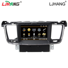 2 din automotive dvd gps for Peugeot 508 2011-2017 MP3 Audio Navigation contact display headrest automotive radio participant free map Microphone IPOD