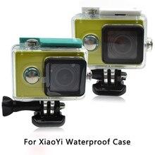 Для Xiaomi Yi Камеры Водонепроницаемый Футляр Yi Mi 60 М Дайвинг Спорт cam Водонепроницаемый Ящик Yi Действий Камеры Аксессуары