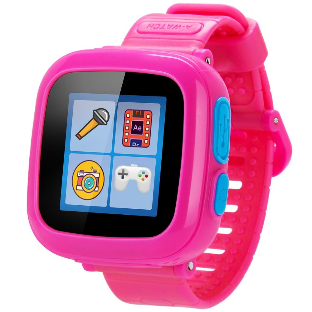 TURNMEON Kid Smart Watch Toy Ten Funny Games For Children Boy Girl Birthday Gift Baby WristWatch OK520 PK W2 Q50 Q70 In Watches From