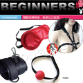 handcuffing  Red sex leather fun hand cuffs for couples  sex game set  high quality adult product