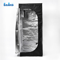 Window Grow Tent Dark Room Size 2 X2 X5 60X60X140CM Free Shipping