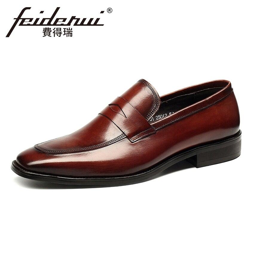 bb97334bc0 Hombre Los Del Hechos Hms30 Dedo Boda Oficina On Aumento Zapatos Genuino  Altura Para Cuero Redondo ...