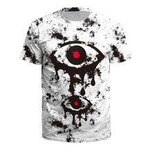 Skull 3d T Shirt Punk alien Men/women Summer Tees death evil Hip Hop funny satanism grim reaper T-shirt supernatura tshirt