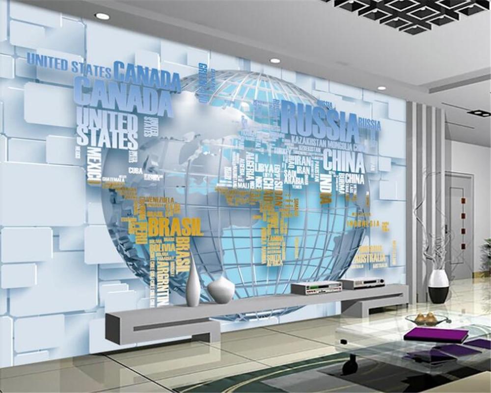 Beibehang Hd Personalized Fashion Interior Wallpaper Papel De