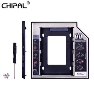 CHIPAL Universal SATA 3.0 2nd HDD Caddy 9.5mm for 9.5 mm 2.5