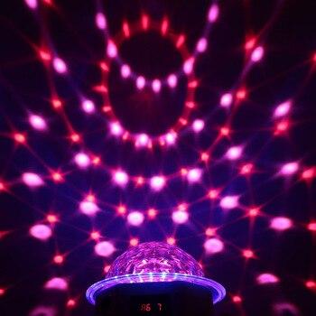 Professionele DMX 512 Party Licht 20 W LED Roterende Strobe RGBPYW Crystal Magic Ball Effect Par Licht