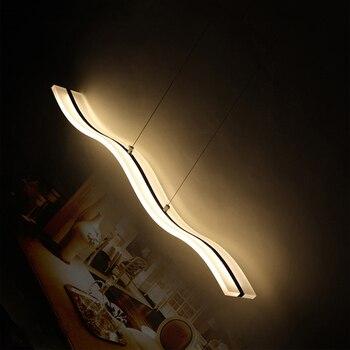 38W Moderne Anhänger Lichter Für Esszimmer Wohnzimmer Restaurant Küche Lichter AC85-265V Leuchte Suspendu Anhänger Lampen