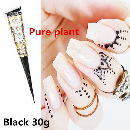 Mehndi Cream Painted Nails Indian Henna Tattoo Pen Body Cream Party