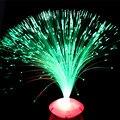 Atacado new estrelas a luz do flash emitindo fibra flor para casa brinquedos férias luzes abajur parágrafo quarto novelty gadget conduziu a luz
