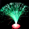 Wholesale New Stars Flash Light Emitting Fiber Flower For Home Holiday Toys Lights abajur para quarto Novelty Gadget LED Light