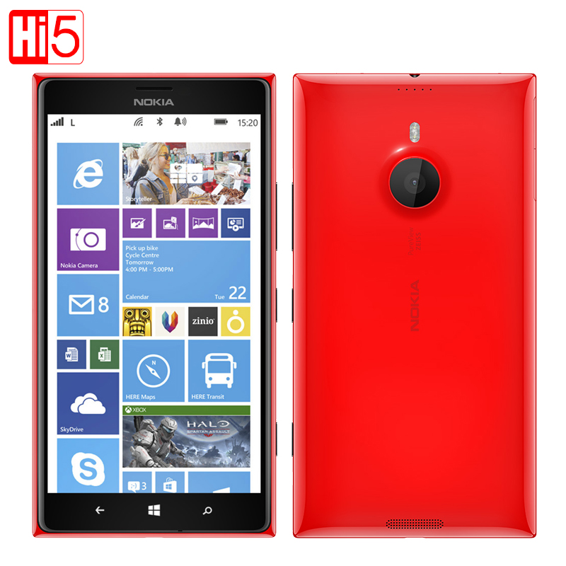 Nokia Lumia 1520 cell phone 6 0 IPS 20MP Camera Quad Core 16GB ROM Bluetooth 4