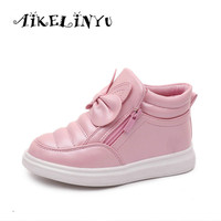 Girl High Help Sports Shoes 2016 Children Shoes For Boys Casual Spring Autumn Kids Sneaker Girls