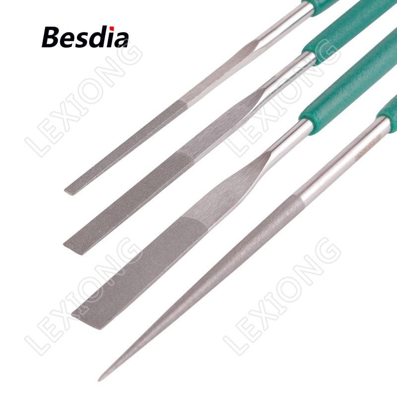 TAIWAN Besdia Diamond Tapered Hand Files Carborundum ötvözetű - Kézi szerszámok - Fénykép 5