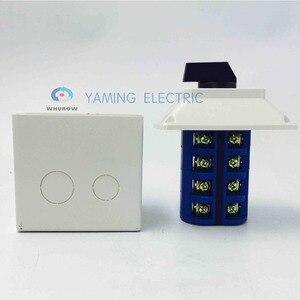 Image 3 - Yaming 전기 YMW26 63/4 m 전환 캠 스위치 63a 4 극 3 위치 방수 인클로저 인터럽트 전기