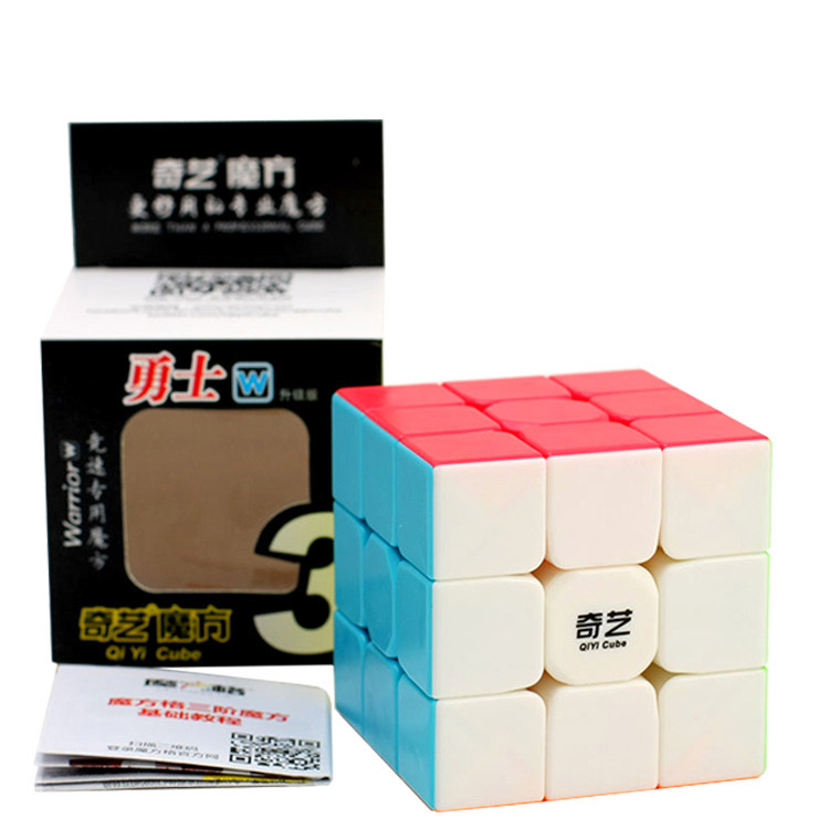 Newest QiYi Warrior W 3x3x3 Profissional Magic Cube Competition Speed Puzzle Cubes Toys For Children Kids cubo magico Qi103 dayan bagua magic cube speed cube 6 axis 8 rank puzzle toys for children boys educational toys new year gift