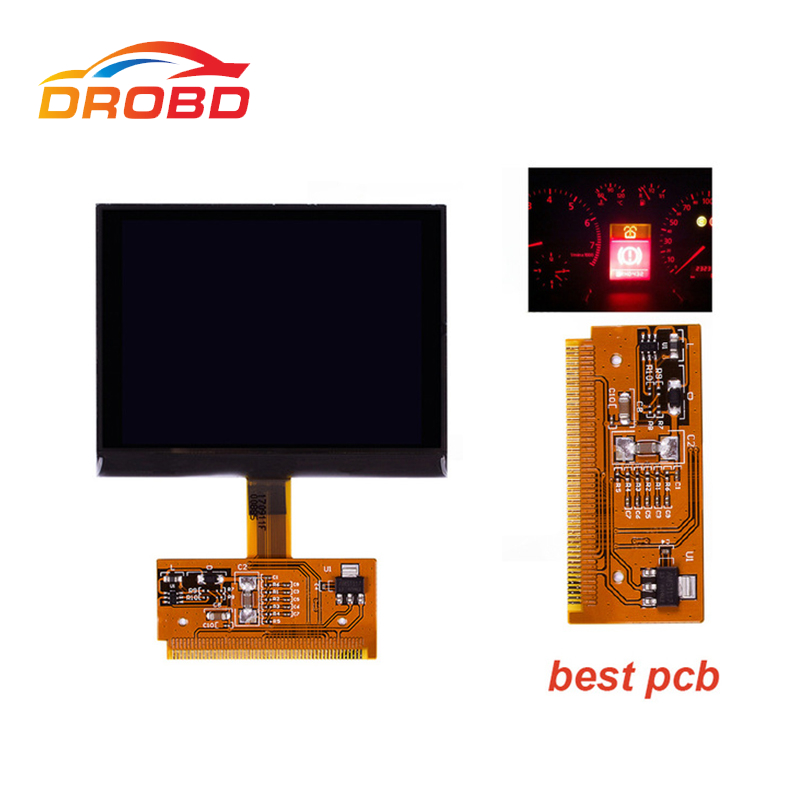 2017 VDO LCD CLUSTER Display Screen For Audi A3 A4 A6 For Volkswagen For V-W For Passat For Seat New