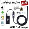 8mm HD720P Wireless WIFI Endoscope Camera 5M 3 5M 2M 1M USB HD Waterproof Camera For