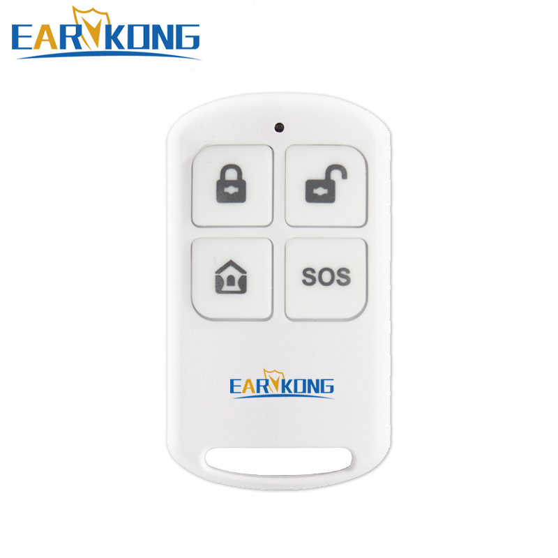 Earykong 433MHz Wireless Remote Controller For PG103 / W2B Home Security WIFI GSM Alarm System|Alarm Remote Controller|   - title=